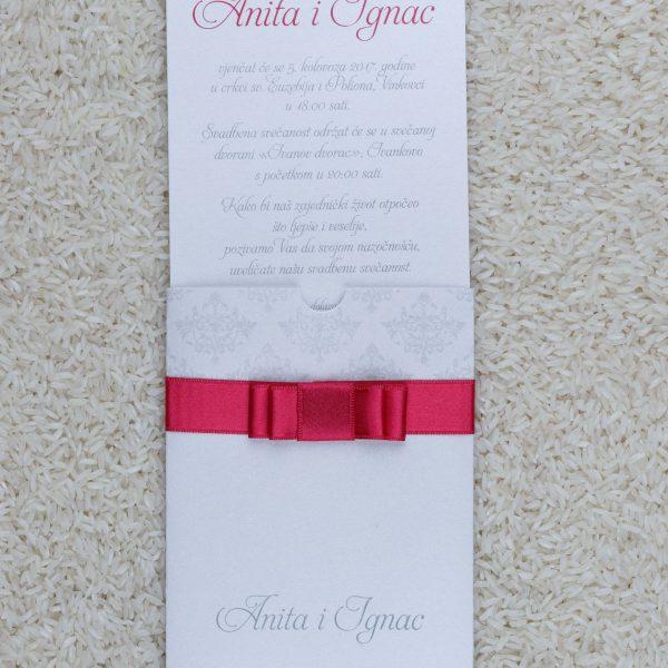 Pozivnica za svatove A3