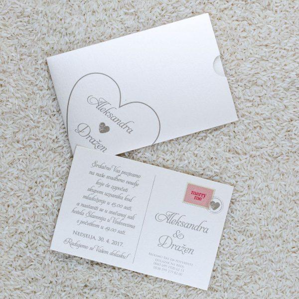 Pozivnica za svatove A7