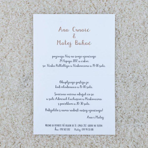 Pozivnica za svatove C11