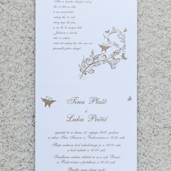 Wedding invitation C4