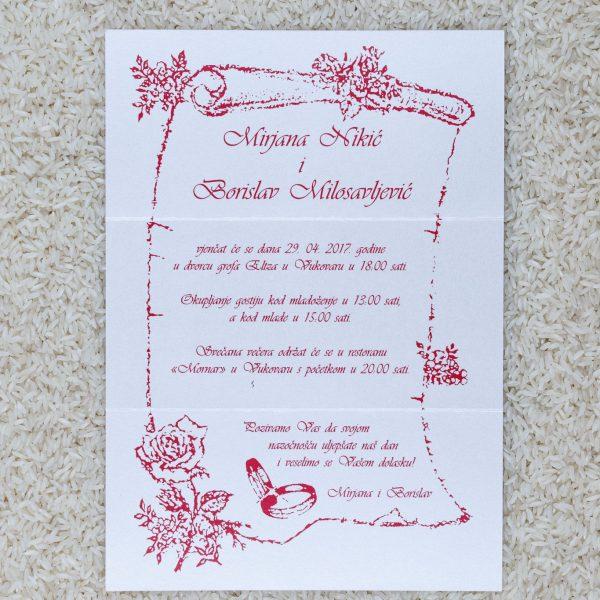 Pozivnica za svatove C7