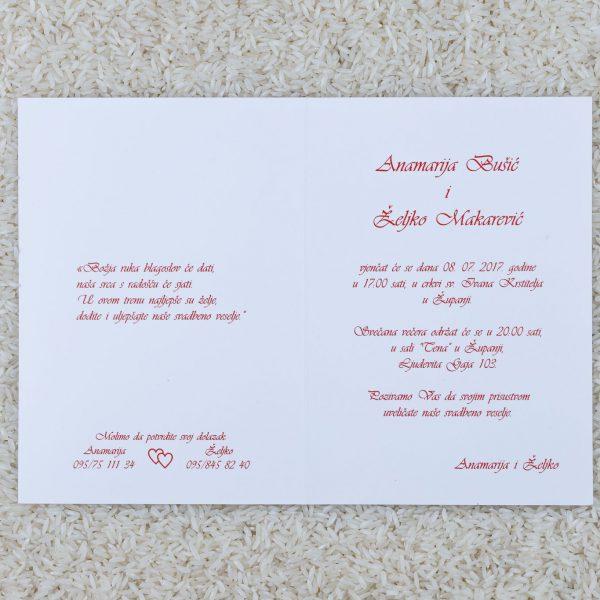 Pozivnica za svatove C8