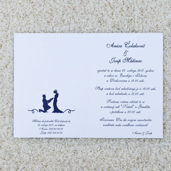 Wedding invitation C9