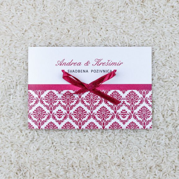 Wedding invitation B2