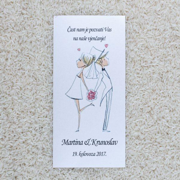 Wedding invitation D2