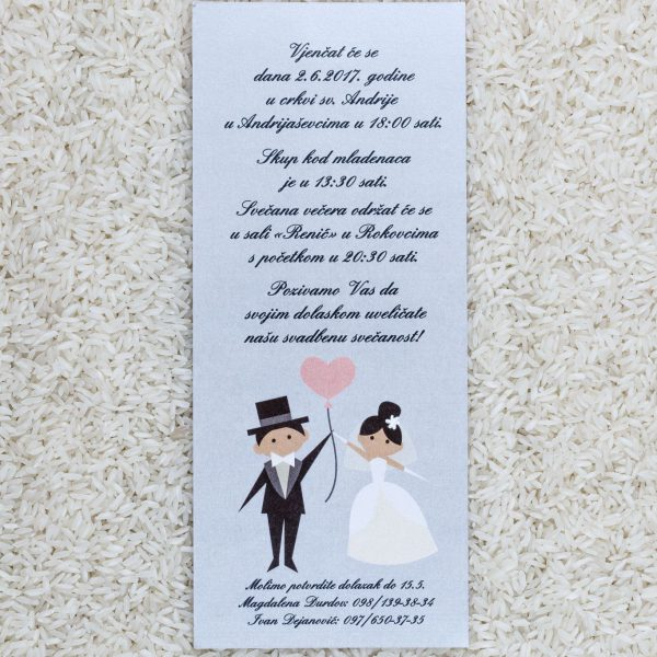 Wedding invitation D20