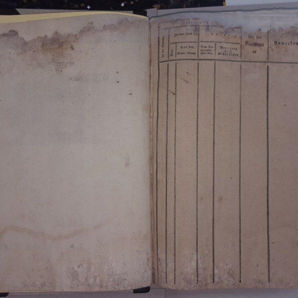 Restoration of books